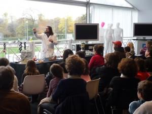 Ateliers scientifiques, démonstrations